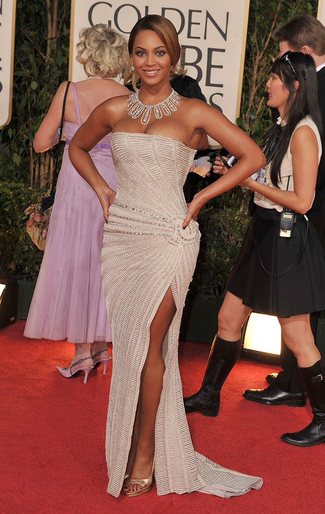 Golden Globes 2009 Beyonce Knowles