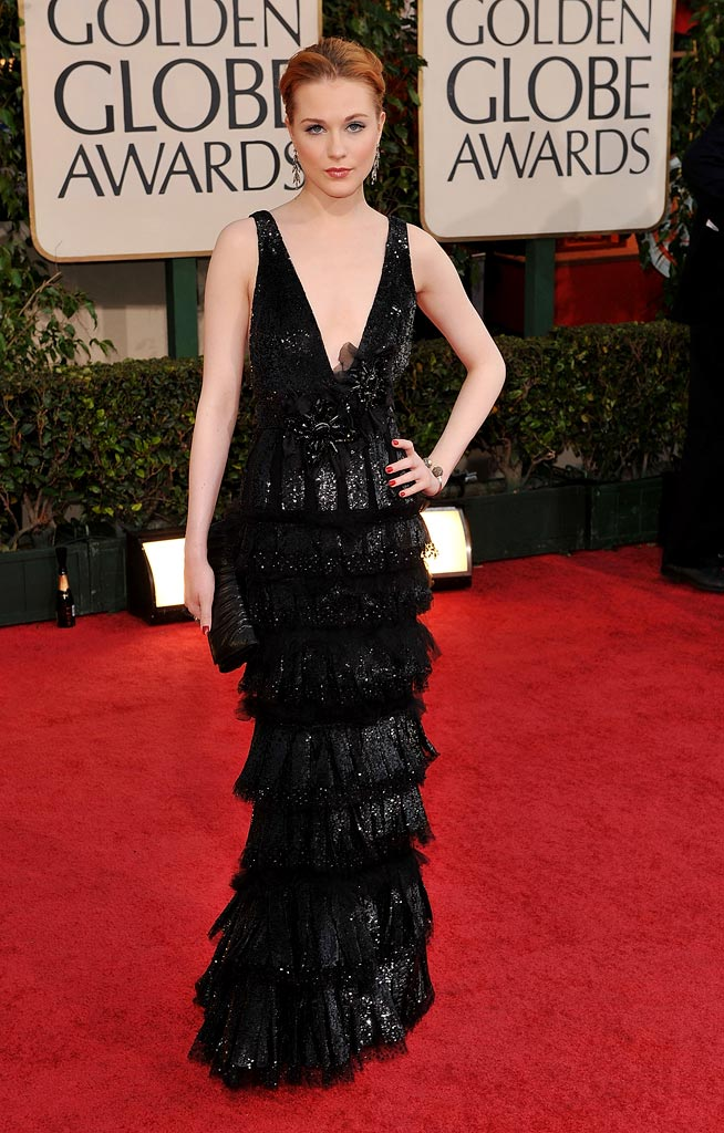 Golden Globes 2009 Evan Rachel Wood