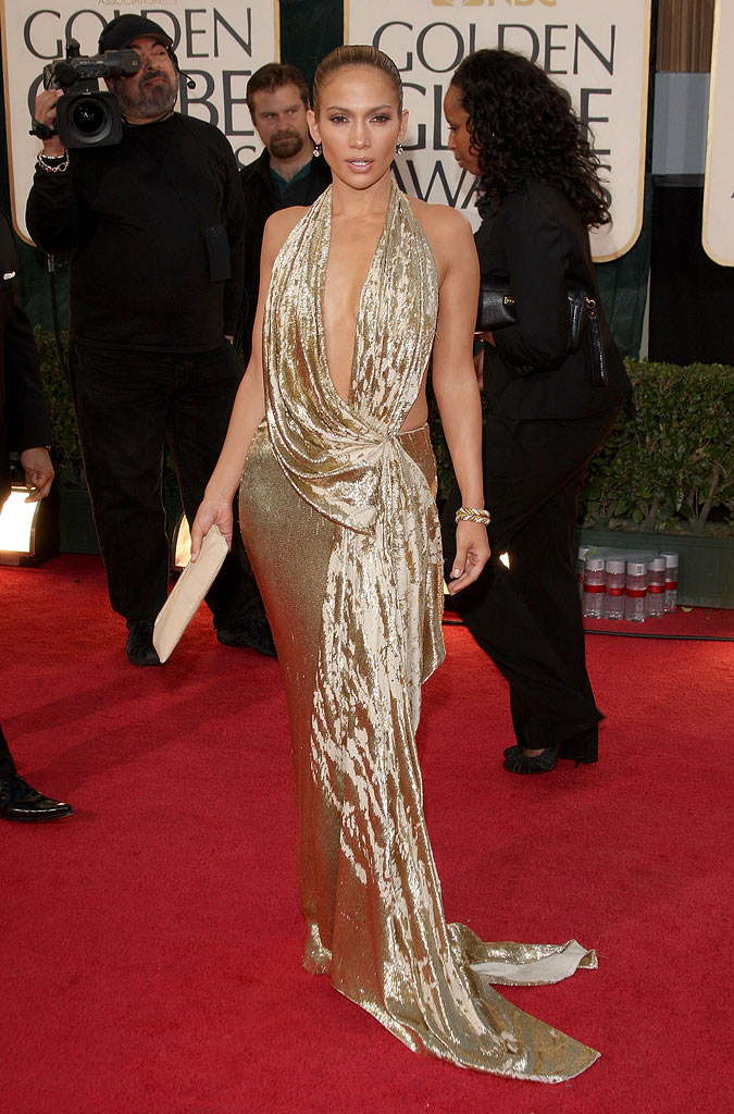 Golden Globes 2009 Jennifer Lopez