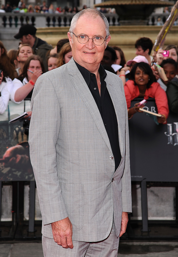Harry Potter and the Deathly Hallows Part 2 UK Premiere 2011 Jim Broadbent