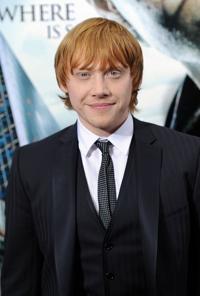 Harry Potter and the Deathly Hallows Pt 1 NYC premiere 2010 Rupert Grint