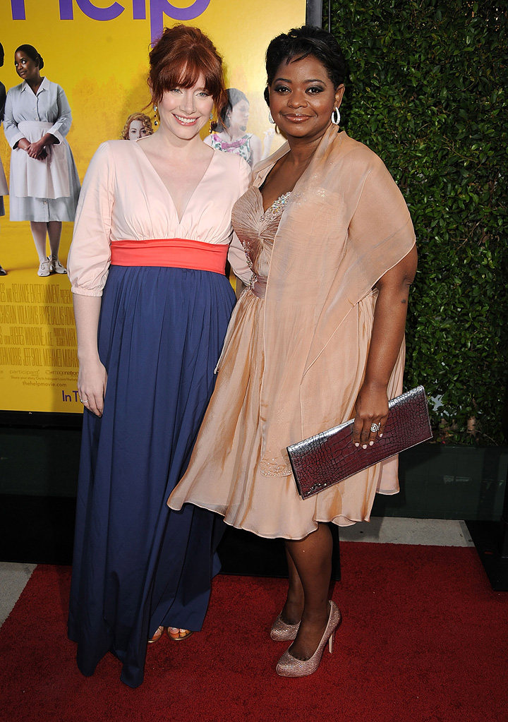 The Help LA Premiere 2011 Bryce Dallas Howard Octavia Spencer