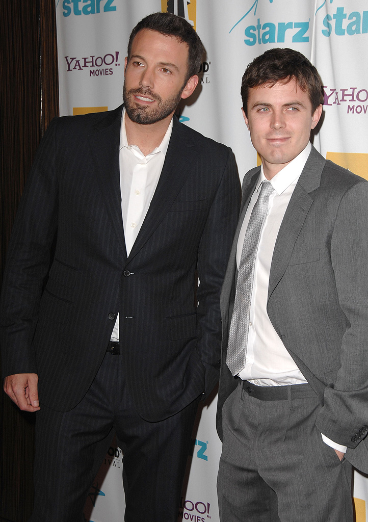Hollywood Film Festival Awards 2007 Ben Affleck Casey Affleck