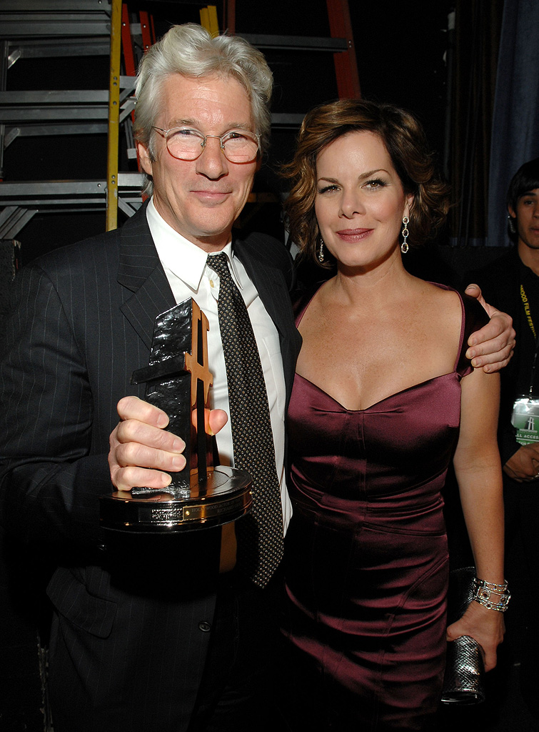 Hollywood Film Festival Awards 2007 Richard Gere Marcia Gay Harden