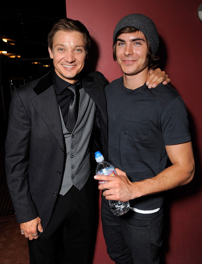 The Hurt Locker Premiere 2009 Jeremy Renner Zac Efron