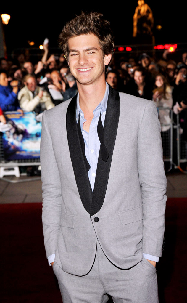 The Imaginarium Of Doctor Parnassus UK Premiere 2009 Andrew Garfield