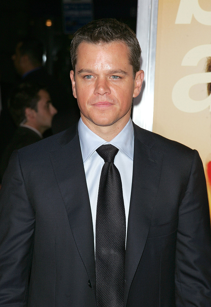 The Informant! NY Premiere 2009 Matt Damon