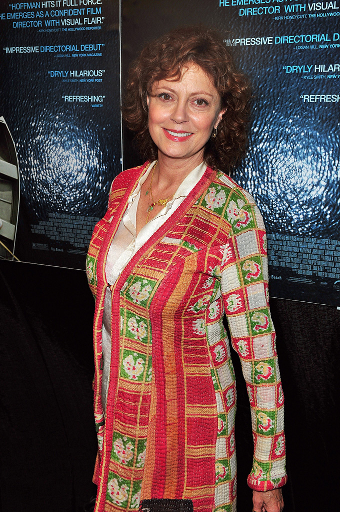 Jack Goes Boating NY Premiere 2010 Susan Sarandon