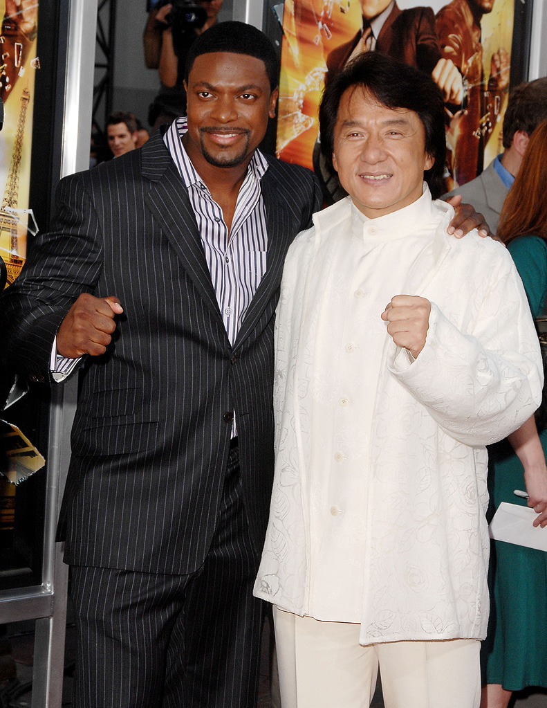 Jackie Chan 2007 Chris Tucker