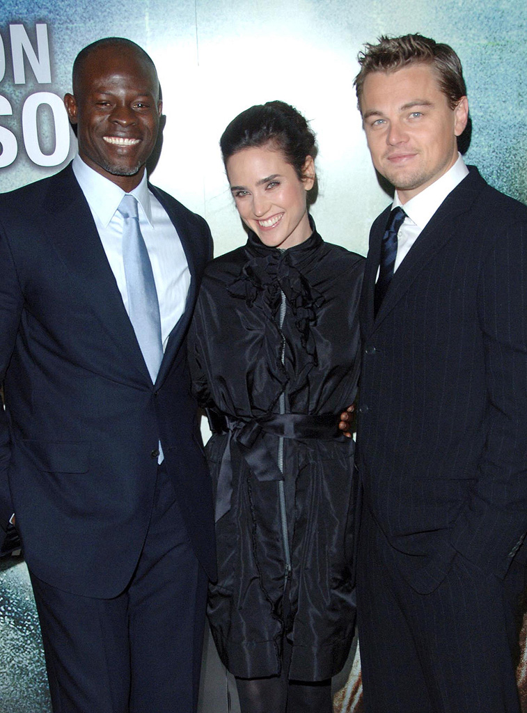 Jennifer Connelly Leonardo Dicaprio Djimon Hounsou 2007