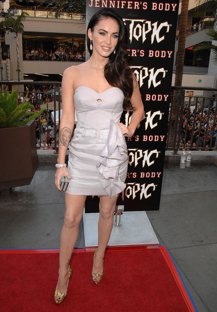 Jennifer's Body Hot Topic Fan Event 2009 Megan Fox