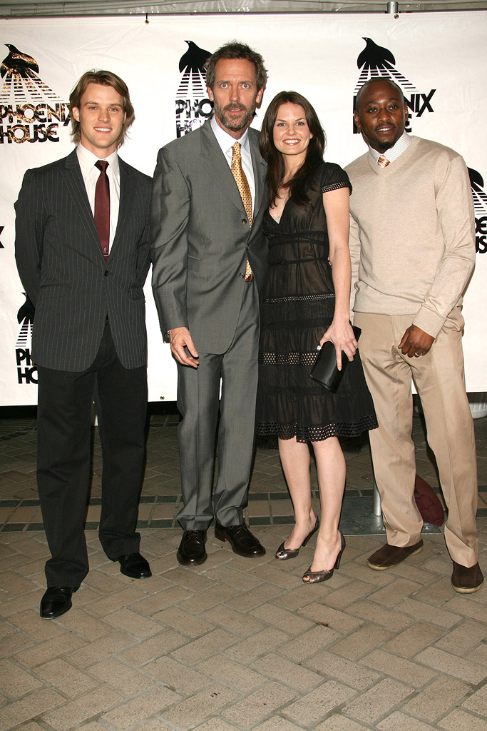 Jesse Spencer Hugh Laurie Jennifer Morrison Omar Epps 2006