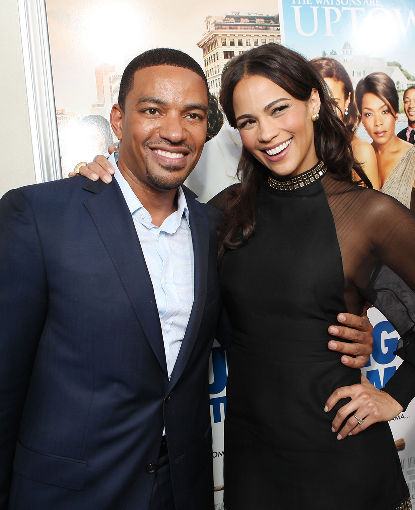 Jumping the Broom LA Premiere 2011 Laz Alonso Paula Patton