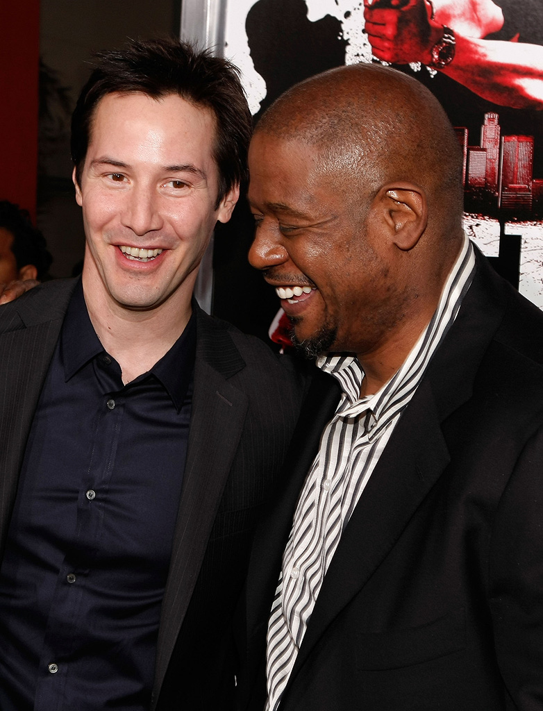 Keanu Reeves 2008 Forest Whitaker