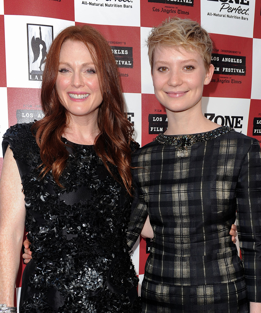 The Kids Are All Right LA Film Fest Premiere 2010 Julianne Moore Mia Wasikowska
