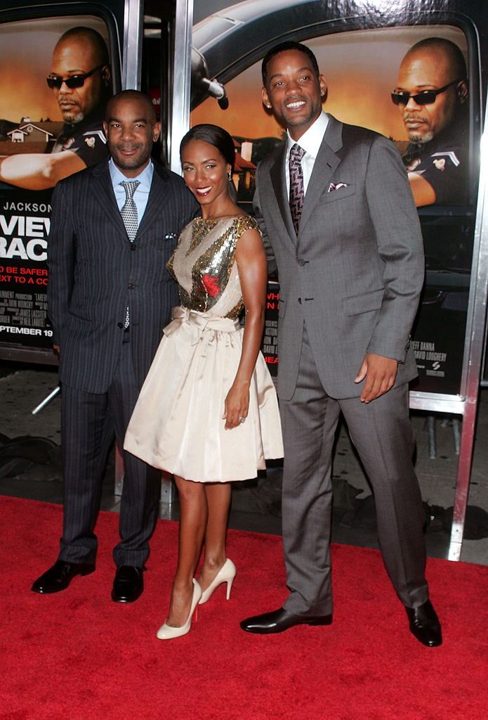 Lakeview Terrace NY Premiere 2008 James Lassiter Jada Pinkett Smith Will Smith
