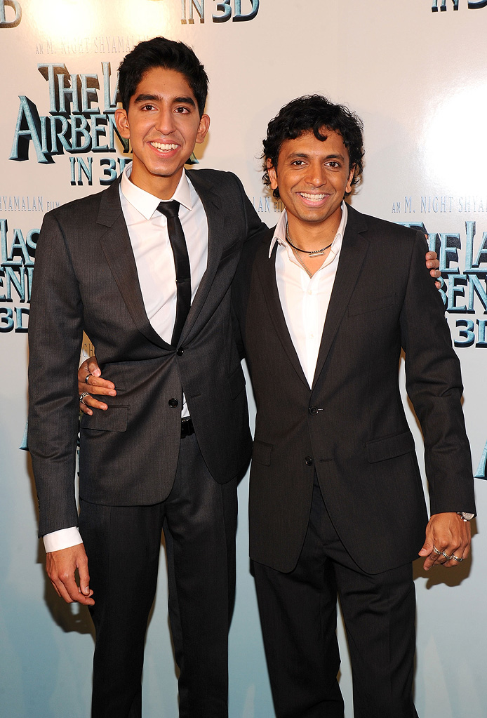 The Last Airbender NY Premiere 2010 Dev Patel M. Night Shyamalan