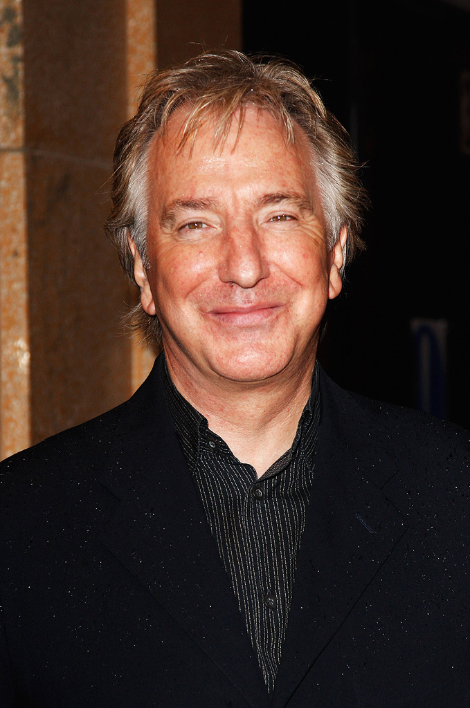 London Film Festival 2008 Alan Rickman Rachel Getting Married Premiere