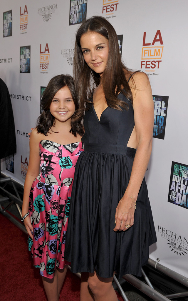 Los Angeles Film Festival Don't be afraid of the dark 2011 premiere Katie Holmes Bailee Madison