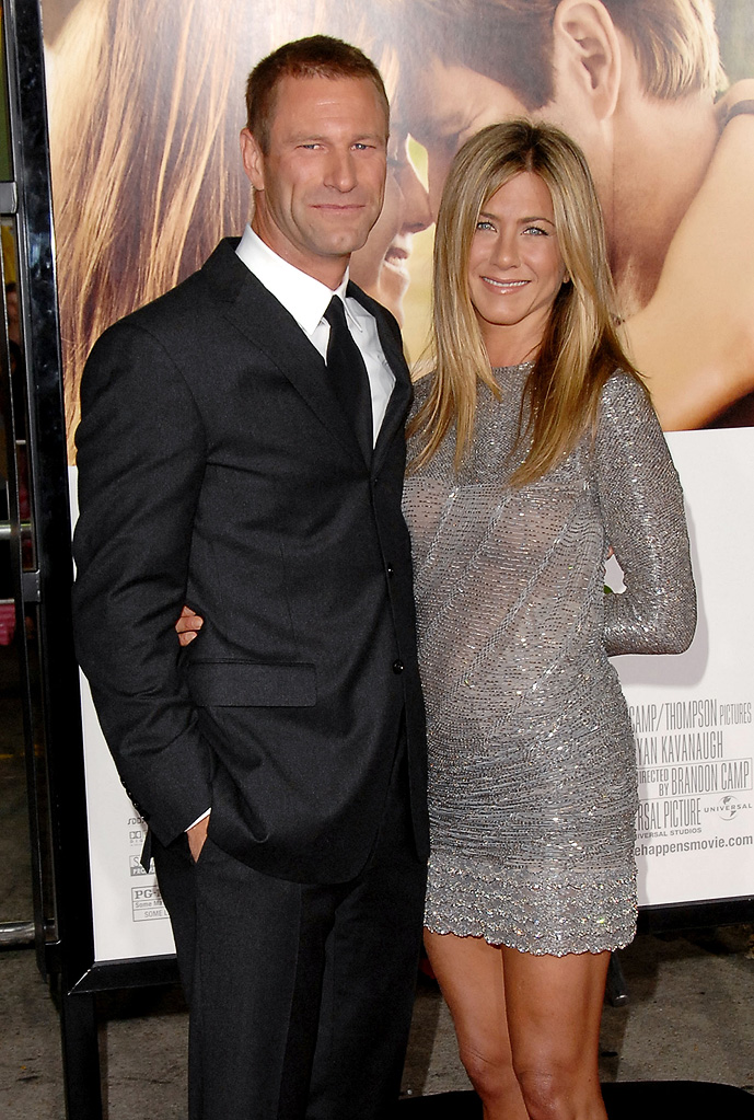 Love Happens LA Premiere 2009 Jennifer Aniston Aaron Eckhart