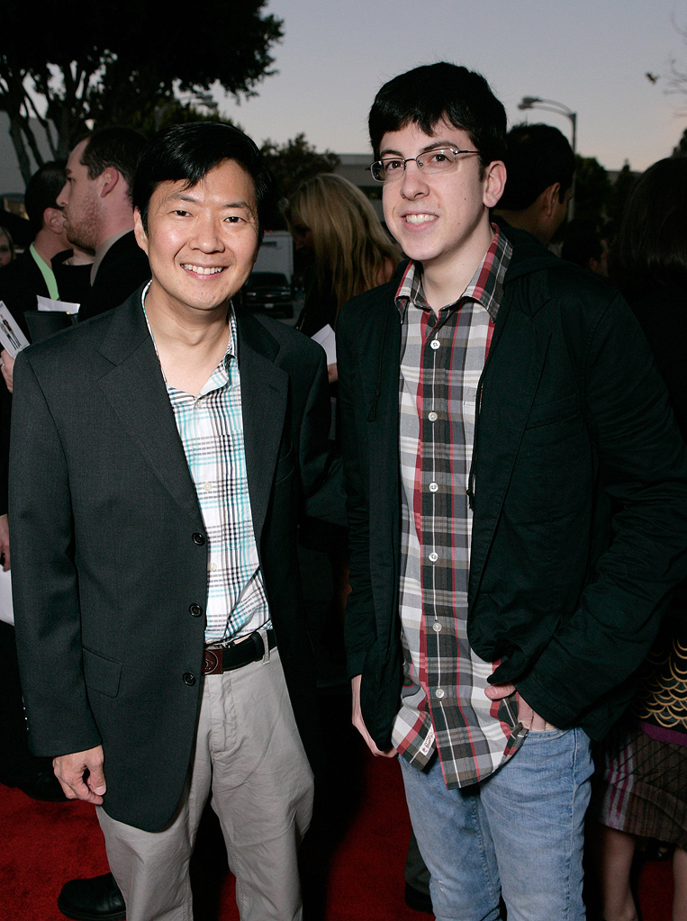 I Love You Man LA premiere 2009 Ken Jeong Christopher Mintz Plasse