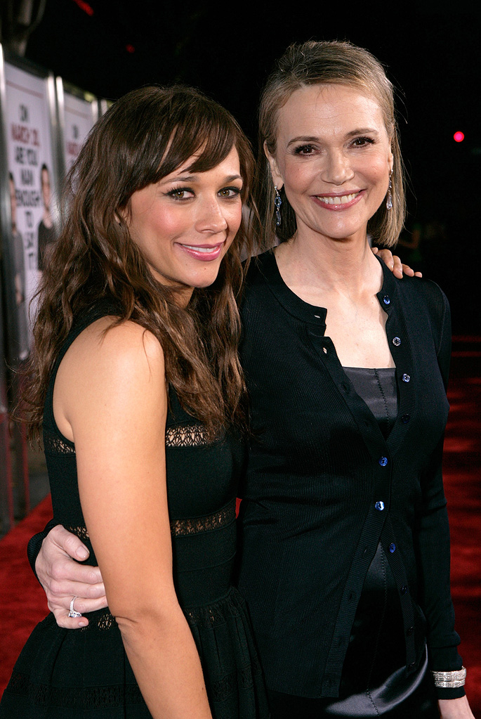 I Love You Man LA premiere 2009 Rashida Jones Peggy Lipton