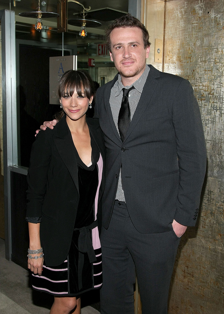 I Love You Man NY screening 2009 Rashida Jones Jason Segel