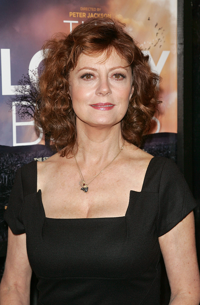 The Lovely Bones NY Premiere 2009 Susan Sarandon