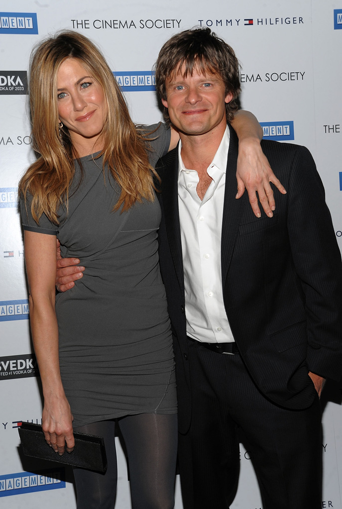 Management NY Premiere 2009 Jennifer Aniston Steve Zahn