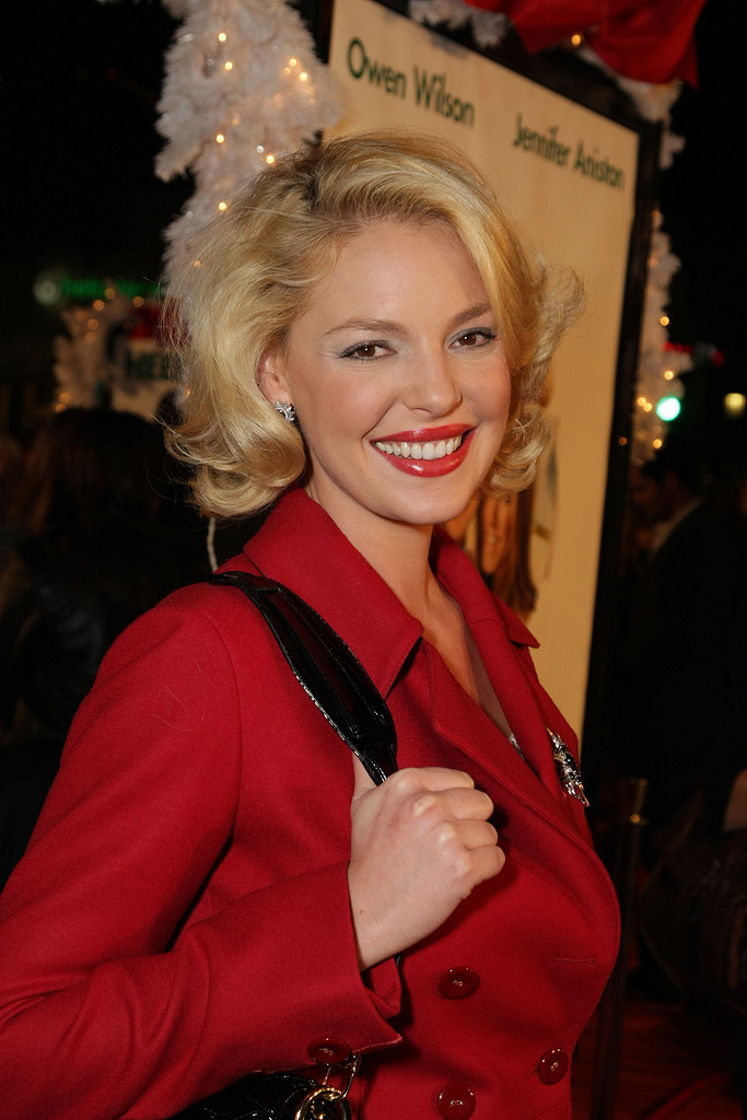 Marley and Me LA Premiere 2008 Katherine Heigl