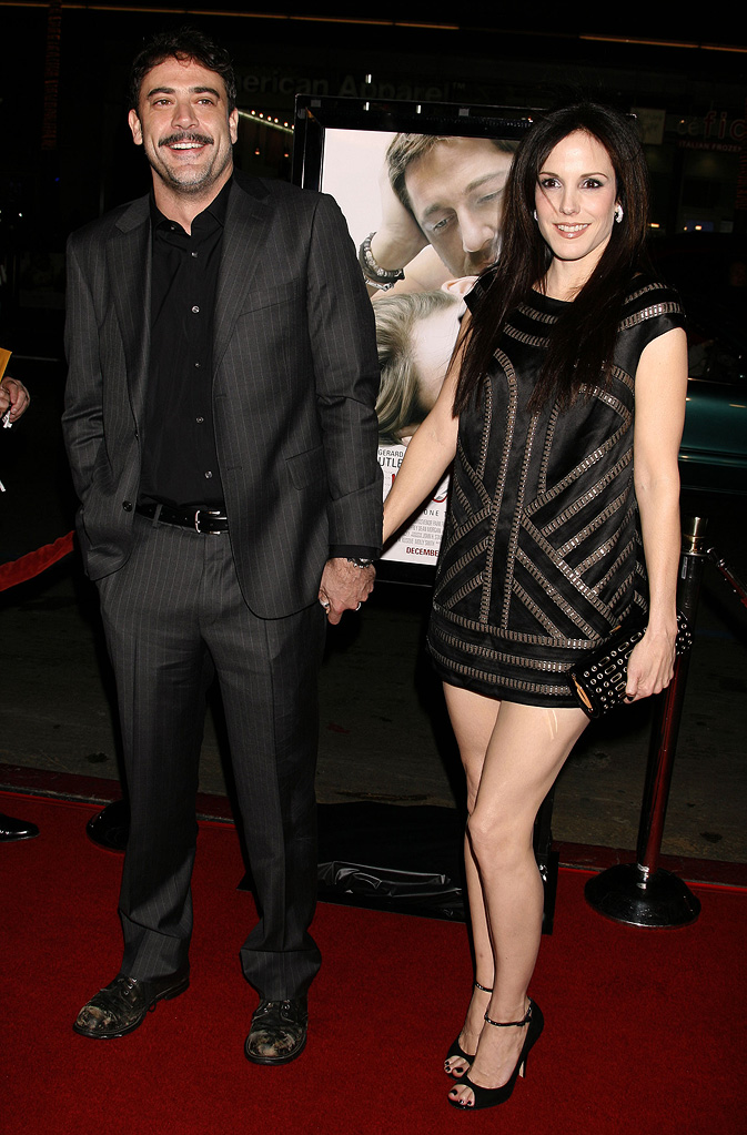 Mary Louise Parker Jeffrey Dean Morgan 2007