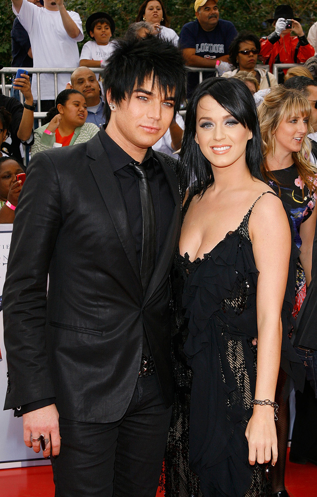 Michael Jackson's This It It LA Premiere 2009 Adam Lambert Katy Perry