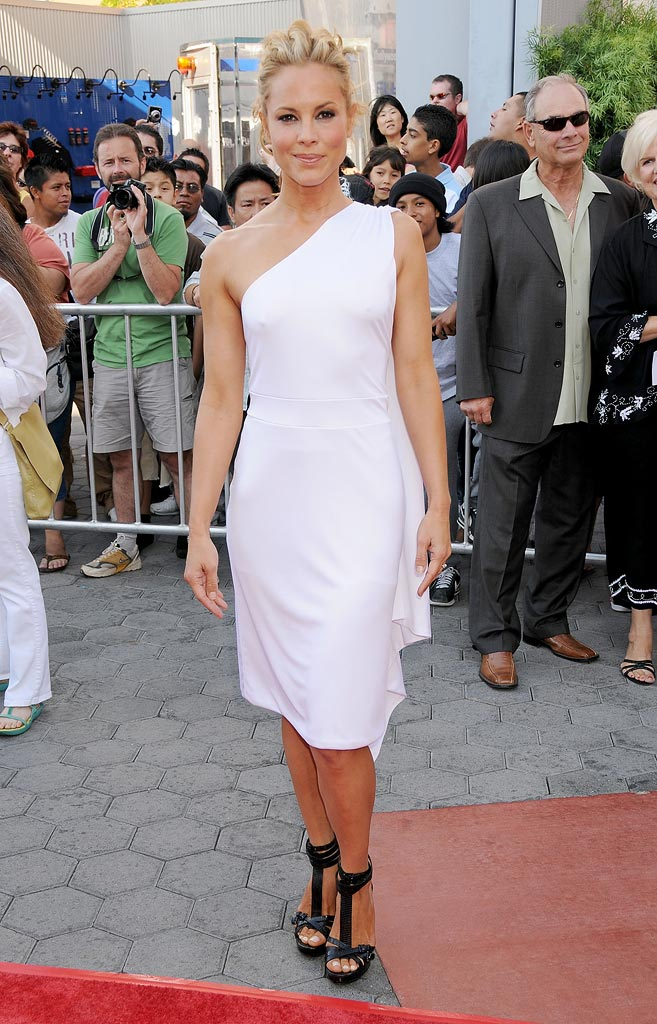 The Mummy Tomb of the Dragon Emperor Premiere 2008 Maria Bello