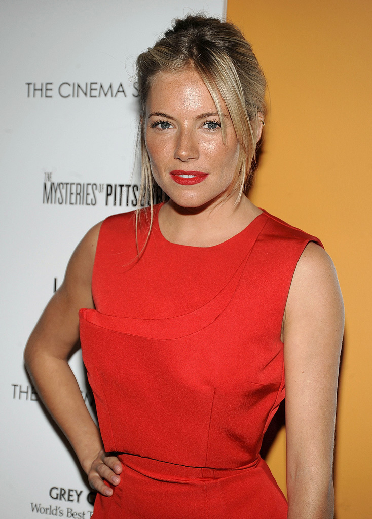The Mysteries of Pittsburgh Premiere NY 2009 Sienna Miller