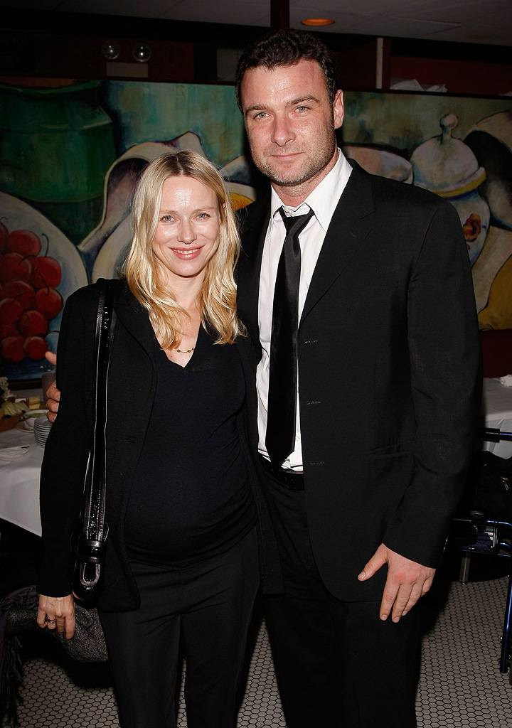 New York Film Festival The Wrestler Premiere 2008 Naomi Watts Liev Schreiber