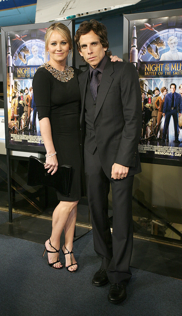 Night at the Museum 2 DC Premiere 2009 Christine Taylor Ben Stiller