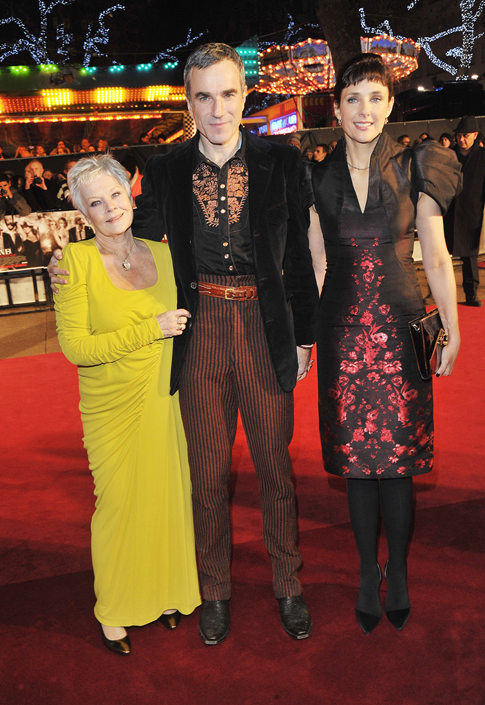 Nine UK Premiere 2009 Judi Dench Daniel Day Lewis Rebecca Miller