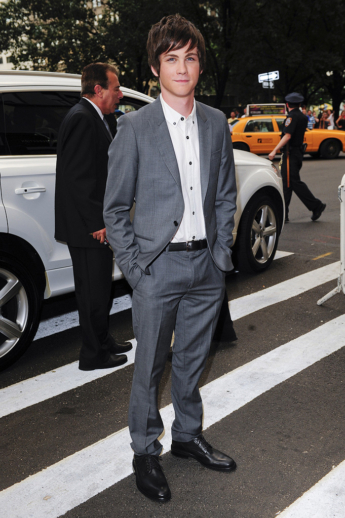 My One and Only NY Premiere 2009 Logan Lerman