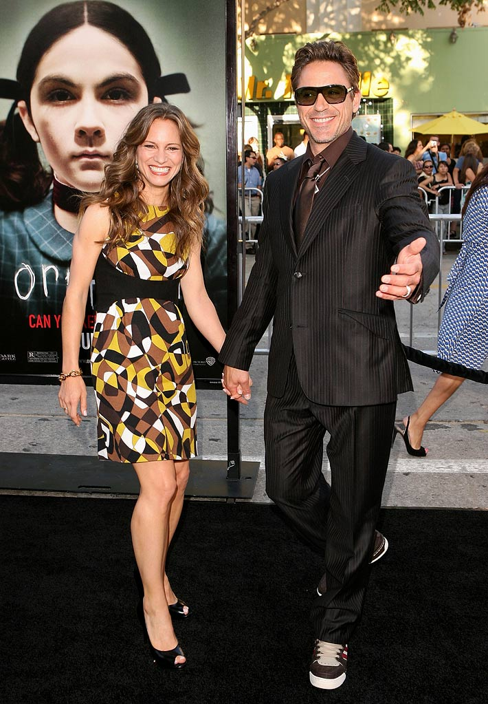 Orphan LA Premiere 2009 Susan Downey and Robert Downey Jr.