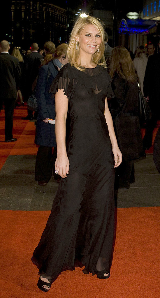 Me and Orson Welles UK Premiere 2009 Claire Danes