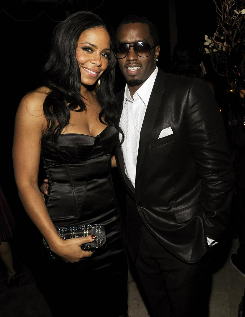 Oscars Prince Party 2008 Sean Combs Sanaa Lathan