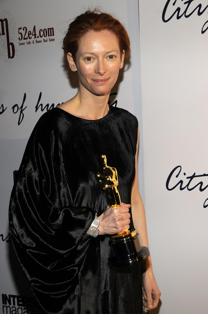 Oscars Prince Party 2008 Tilda Swinton