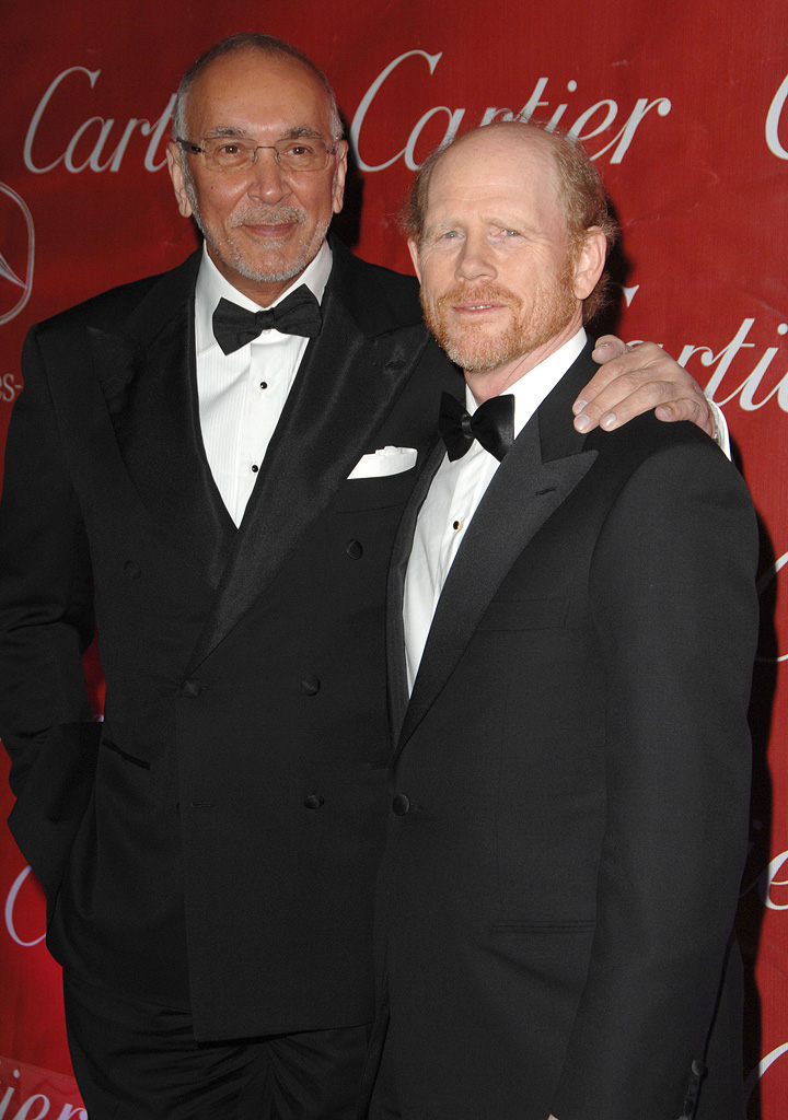 Palm Springs International Film Festival Awards Gala 2008 Frank Langella Ron Howard