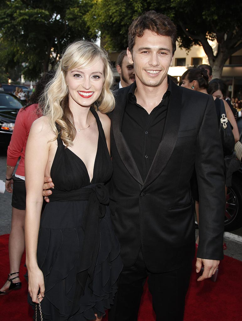 Pineapple Express LA Premiere 2008 James Franco Ahna O'Reilly