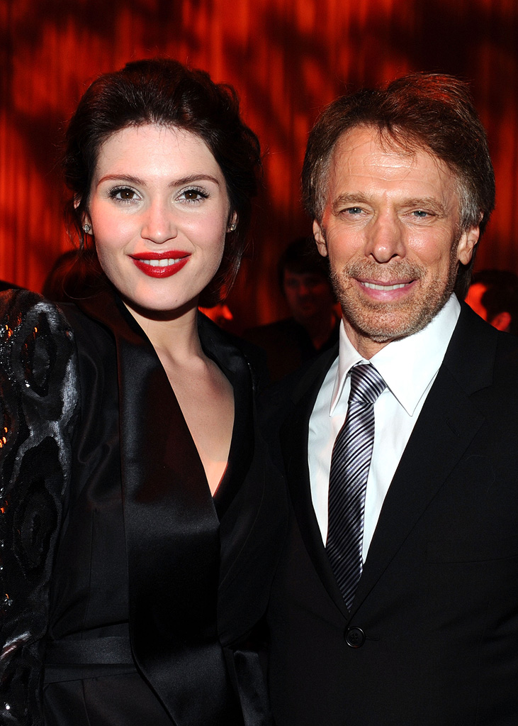 Prince of Persia Sands of Time LA Premiere 2010 Gemma Arterton Jerry Bruckheimer