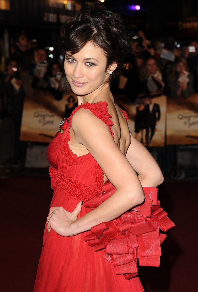 Quantum of Solace UK Premiere Olga Kurylenko