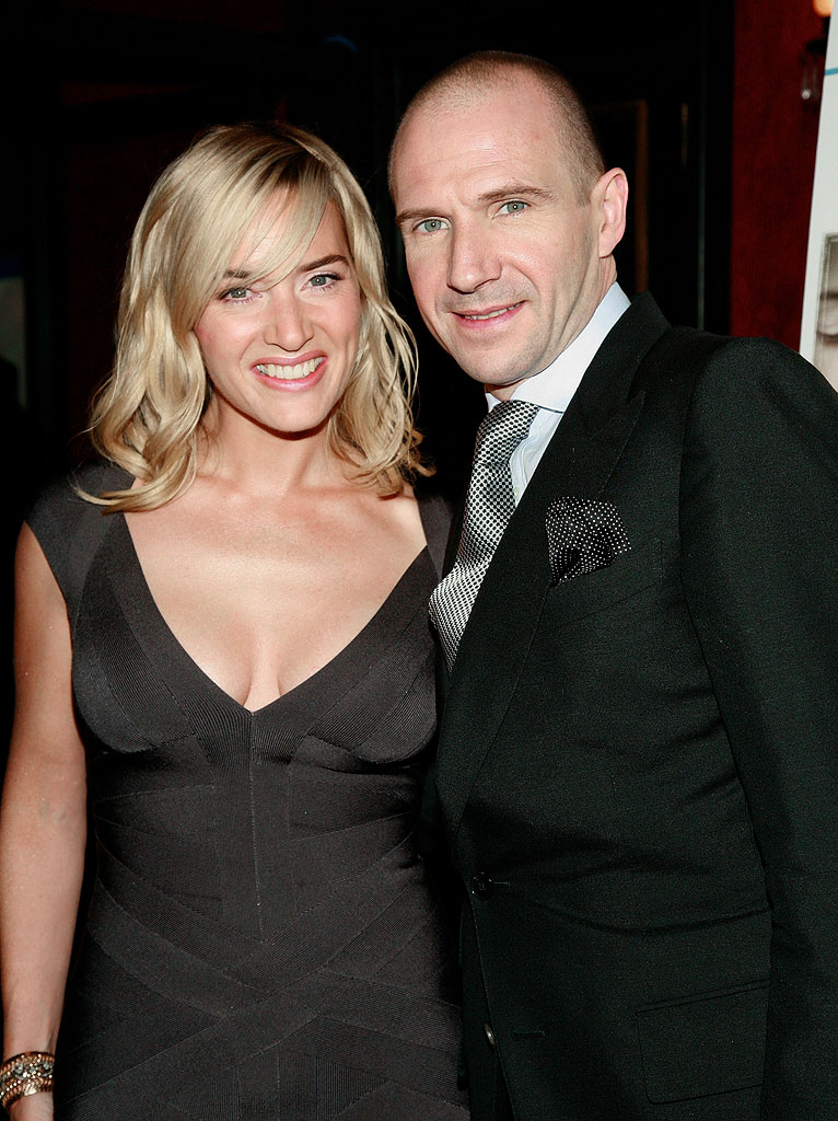 The Reader Premiere NY Kate Winslet Ralph Fiennes