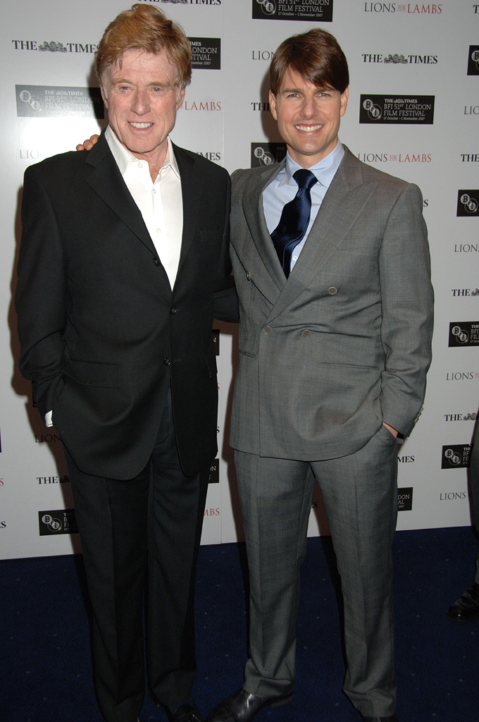 Robert Redford Tom Cruise 2007