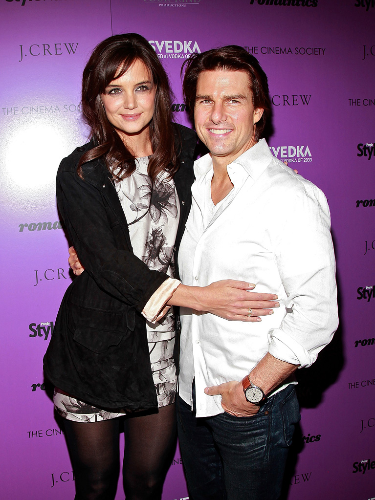The Romantics NYC Screening 2010 Katie Holmes Tom Cruise