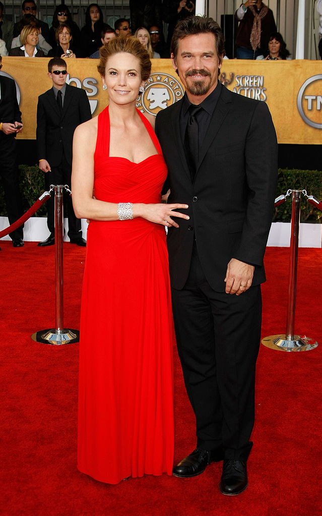 SAG Awards 2009 Diane Lane Josh Brolin